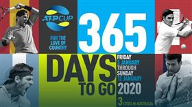 ▲「ATP盃」明年1月3日開打。(圖/翻攝自ATP官網)