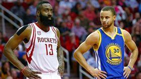 NBA/哈登這三分數據完虐顛峰柯瑞 NBA,休士頓火箭,James Harden,三分球,Stephen Curry 翻攝自推特