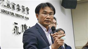 農委會:金門死豬確定由中國漂過來(圖/農委會提供) 農委會代理主委陳吉仲