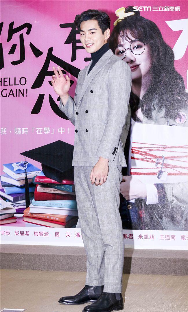 「你有念大學嗎?」演員禾浩辰 (布魯斯)出席。(記者林士傑/攝影)