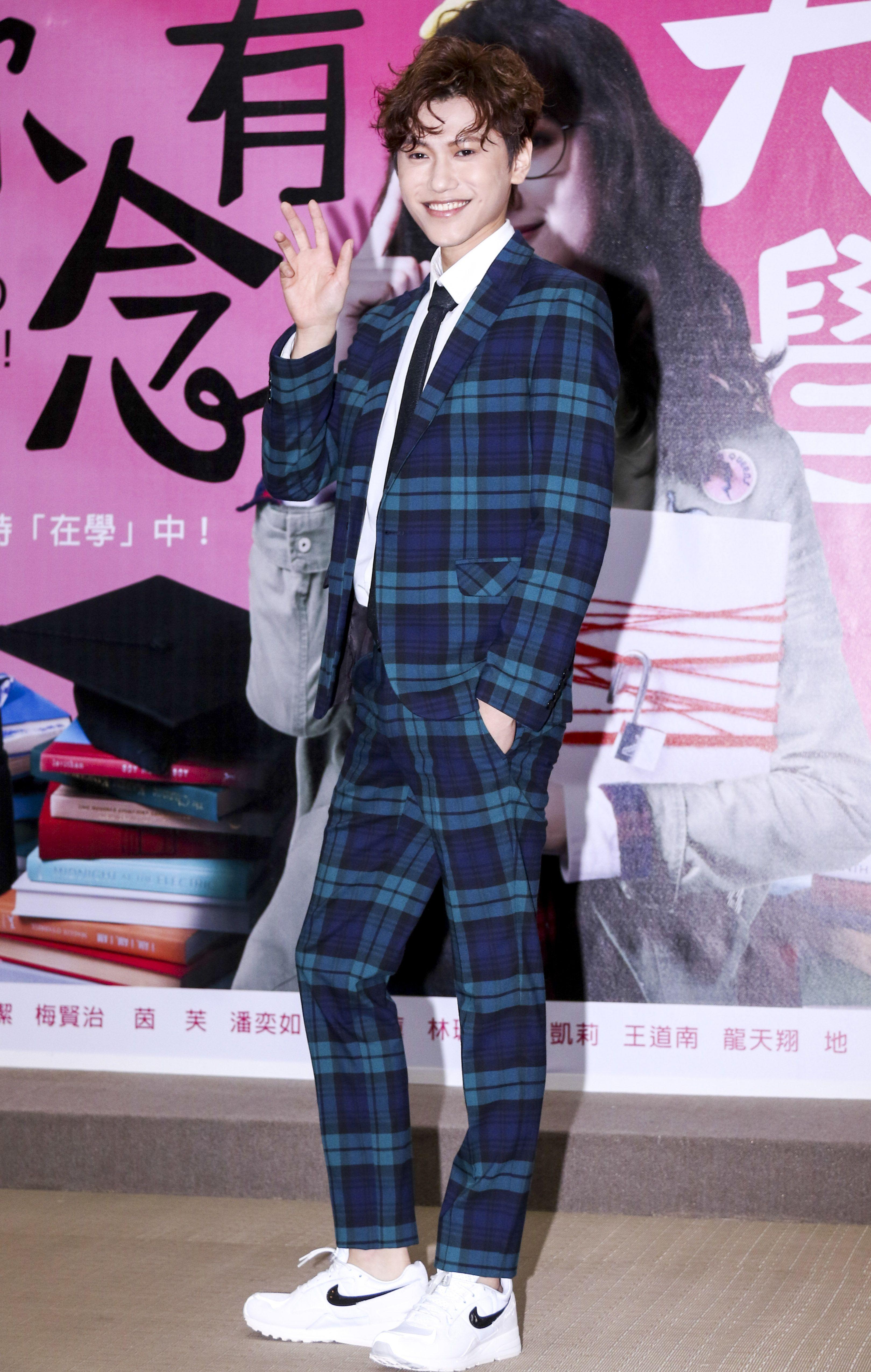 「你有念大學嗎?」演員邱宇辰(毛弟)出席。(記者林士傑/攝影)