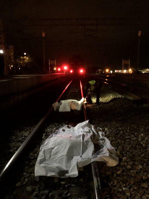 台鐵撞到牛!340次自強號今(19)日18時10分通過東竹站,結果18時12分在東竹=富里間上行第二閉塞號誌機附近撞到牛,司機員下車查看後,確認車輛無損壞。(圖/翻攝畫面)