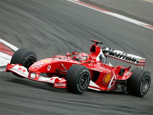 Michael Schumacher為Ferrari立下豐功偉業。(圖/翻攝網站)
