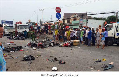 越南,車禍,海洛因,酒駕,毒駕(圖/翻攝自vietnamnet)