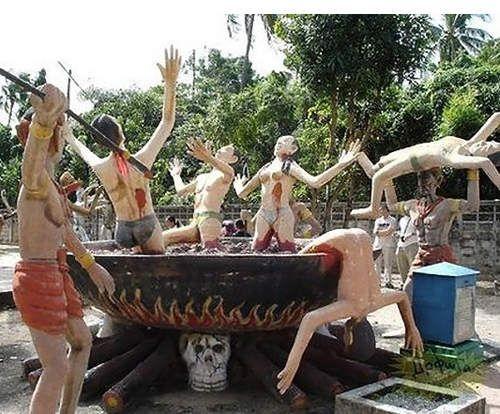 泰國地獄公園(圖/翻攝網路)