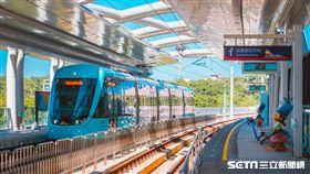 ▲淡海輕軌,綠山線,(圖/新北捷運公司提供)