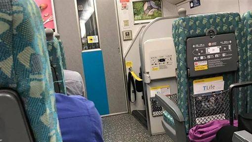 高鐵,腿麻,板橋,成功嶺,收假 (圖/爆怨公社)