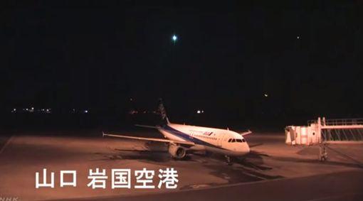 日本,小行星,爆炸 圖/翻攝自NHK