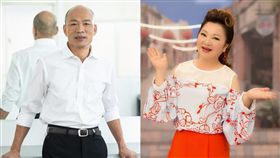 韓國瑜,白冰冰/翻攝自韓國瑜、白冰冰臉書