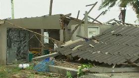 罕見颱襲泰1200