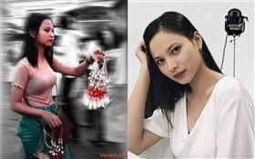 菲律賓「茉莉花妹」!女大生賣花爆紅 (圖/翻攝自Veronica Rodillas臉書)