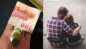 女兒,零用錢,出遊,父親,男朋友,老江湖,要錢,討錢, 圖/翻攝自pixabay、爆廢公社