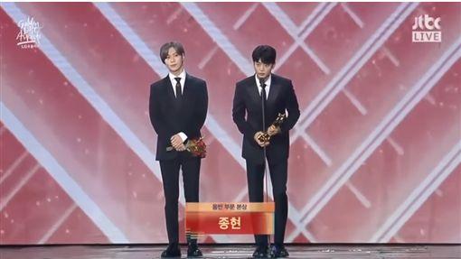 泰民,珉豪,鐘鉉/翻攝自JTBC
