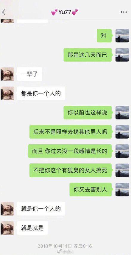 張雨綺,袁巴元,互毆,離婚,偷吃/翻攝自微博