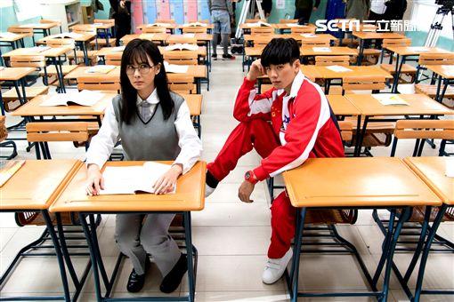 安心亞、禾浩辰《你有念大學嗎?》出演高中生。(圖/台視提供)