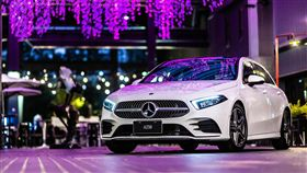 ▲深受年輕族群歡迎的新世代A Class。(圖/Mercedes-Benz提供)