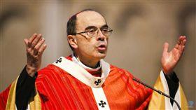 法國里昂樞機主教巴巴林(Philippe Barbarin)是法國中部偏東城市里昂(Lyon)的大主教,被控連同當地教區的其他5人,包庇一樁神父性侵案。(圖/翻攝自6Medias YouTube)