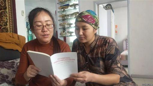 共產黨,維吾爾,新疆,文化認同,媽媽 圖/推特
