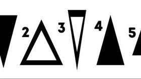 五個三角形揭露你內心真實個性。(圖/翻攝自國外網站《Bright Side》)