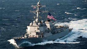 美國海軍麥康貝爾號導彈驅逐艦(USS McCampbell)(圖/翻攝自USS McCampbell (DDG 85)臉書)