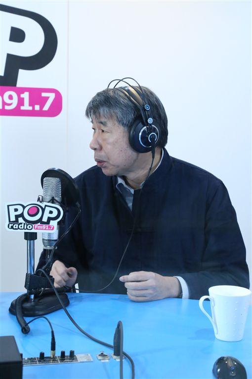 台大政治系教授 張亞中稍早來到《POP撞新聞》接受黃暐瀚 專訪,POP撞新聞提供