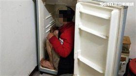 越南,脫團,冰箱,高雄,翻攝畫面