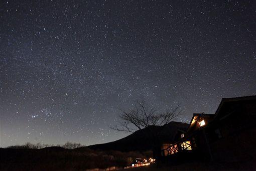 ▲住進利索納久住高原溫泉飯店,輕鬆感受睡在星空下的超棒體驗。(圖/盈達旅遊)