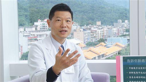 肺癌,和信醫院胸腔外科主治醫師施志勳,奕起聊健康(記者陳則凱攝影)