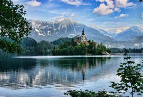 1斯洛維尼亞 布雷得湖
