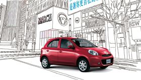 ▲NISSAN MARCH 19年式。(圖/NISSAN提供)