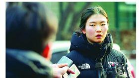 ▲韓國滑冰女將沈錫希指控遭到教練長期性侵。(圖/截自韓國媒體)