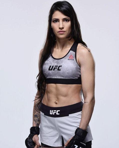 ▲巴西UFC選手Polyana Viana(圖/翻攝網路)