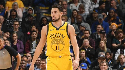 Klay Thompson(圖/翻攝自NBA官方推特)