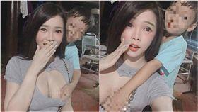 他曬舊照 環抱巨乳辣師「雙手狂摸」!本尊是她…網暴動啦 圖/翻攝自Thanchanok Jirekpreedamit臉書