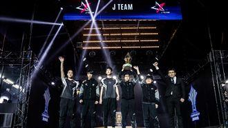地表最強J team-傳說對決專訪