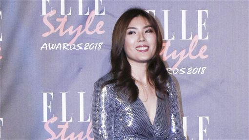 ELLE Style Awards風格人物大賞Youtuber獎理科太太。(記者林士傑/攝影)