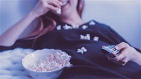 電影,電視,放鬆,爆米花