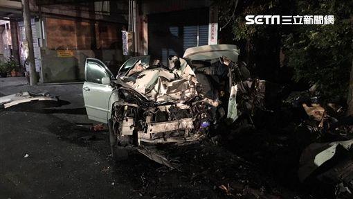 彰化BMW男酒駕逆撞,女駕駛遭撞飛慘死/翻攝畫面