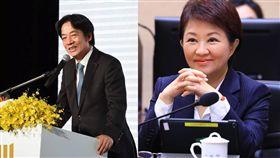 盧秀燕、賴清德/台中市政府提供、翻攝自賴清德臉書