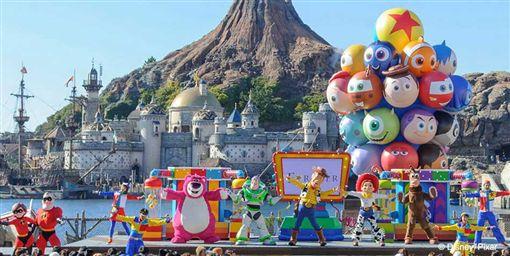 ▲東京迪士尼海洋「皮克斯遊戲時間」(圖/翻攝網路)