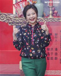 台視新八點檔「生生世世」開鏡記者會,演員林嘉俐。(記者林士傑/攝影)