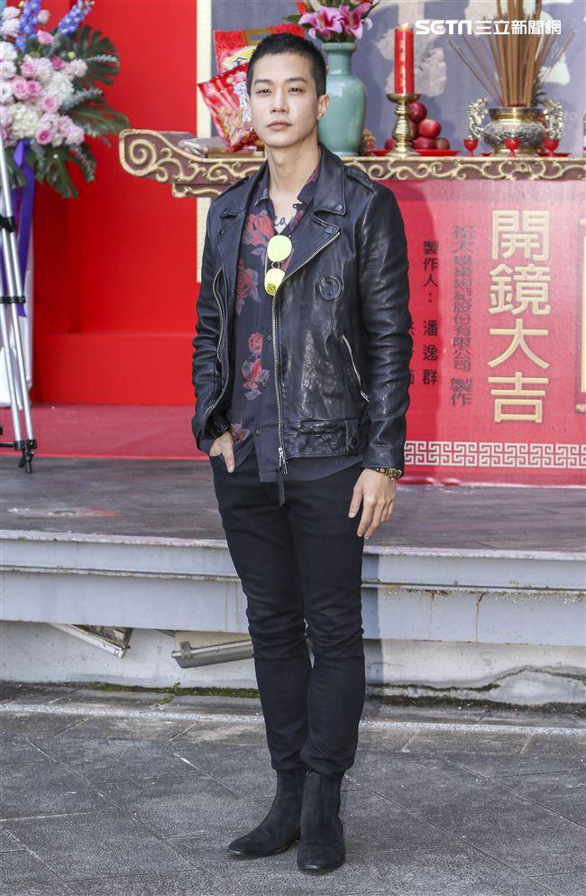 台視新八點檔「生生世世」開鏡記者會,演員薛士凌。(記者林士傑/攝影)