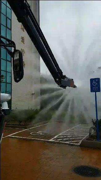 桃園市消防局添購高效能化學車(圖/翻攝臉書社團我愛消防車)