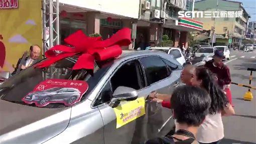 南投樂透中獎者送車