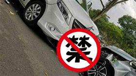 新加坡,車禍,靈車,遺照(圖/翻攝自推特)