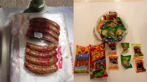 絕對母湯!帶中國製豬肉製品入境 再驗出2例陽性非洲豬瘟圖/防檢局提供