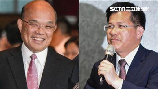 蘇貞昌邀林佳龍出任交通部長。(圖/資料照)