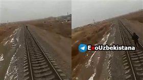 烏茲別克少年戴耳機聽音樂被火車撞死/臉書