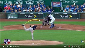 ▲紅襪投手塞爾(Chris Sale)的滑球是大聯盟打者公認最難打的球路。(圖/翻攝自MLB YouTube頻道)