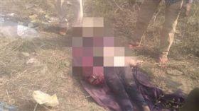 印度少女安賈娜(Anjana)遭到性侵後殺害(圖/推特)